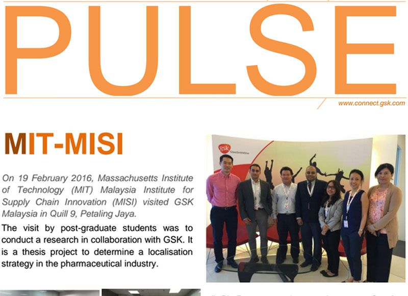 """GSK """"PULSE"""" features MISI Students"""