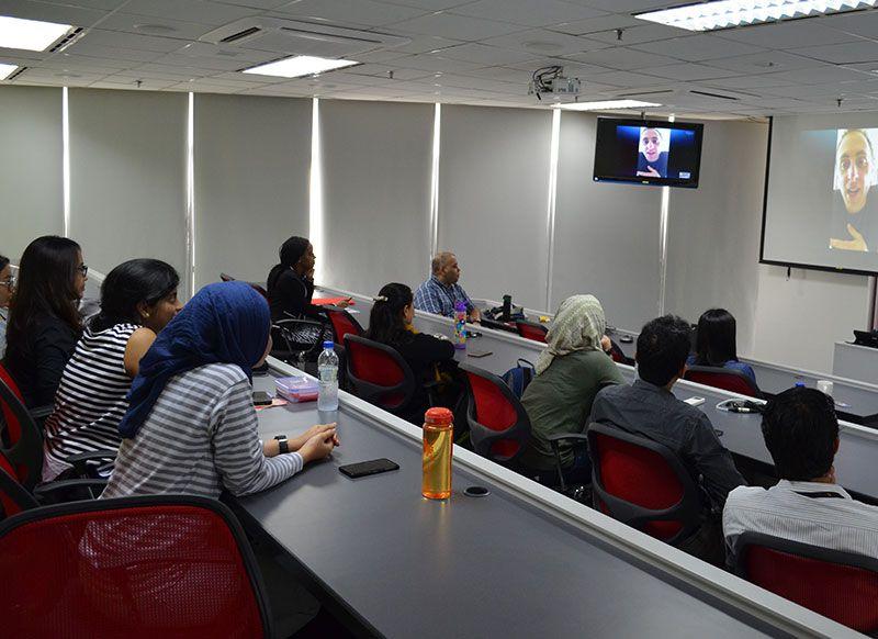 Webinar with Alumnus