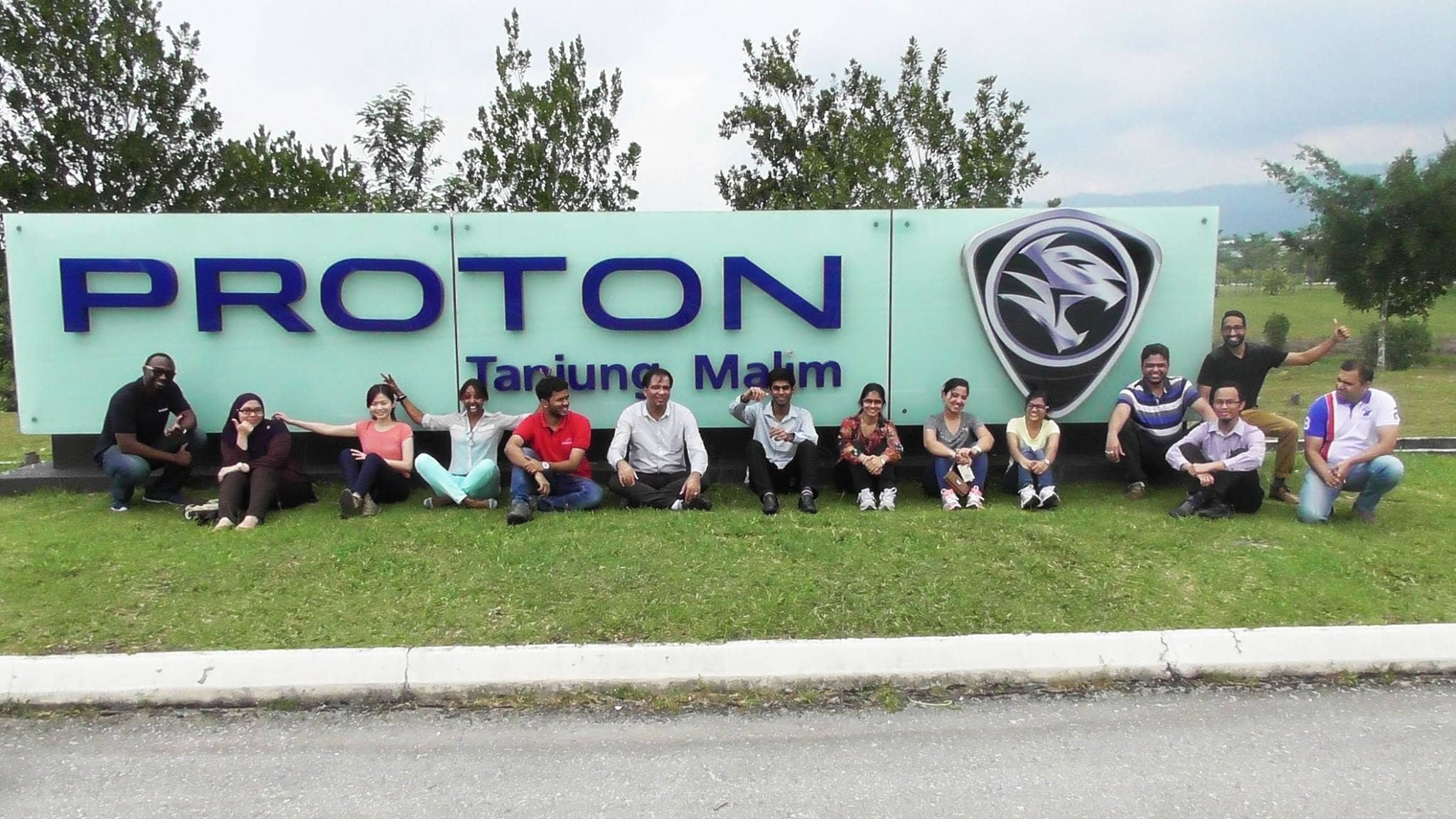 MSCM Class of 2017 Visits Proton