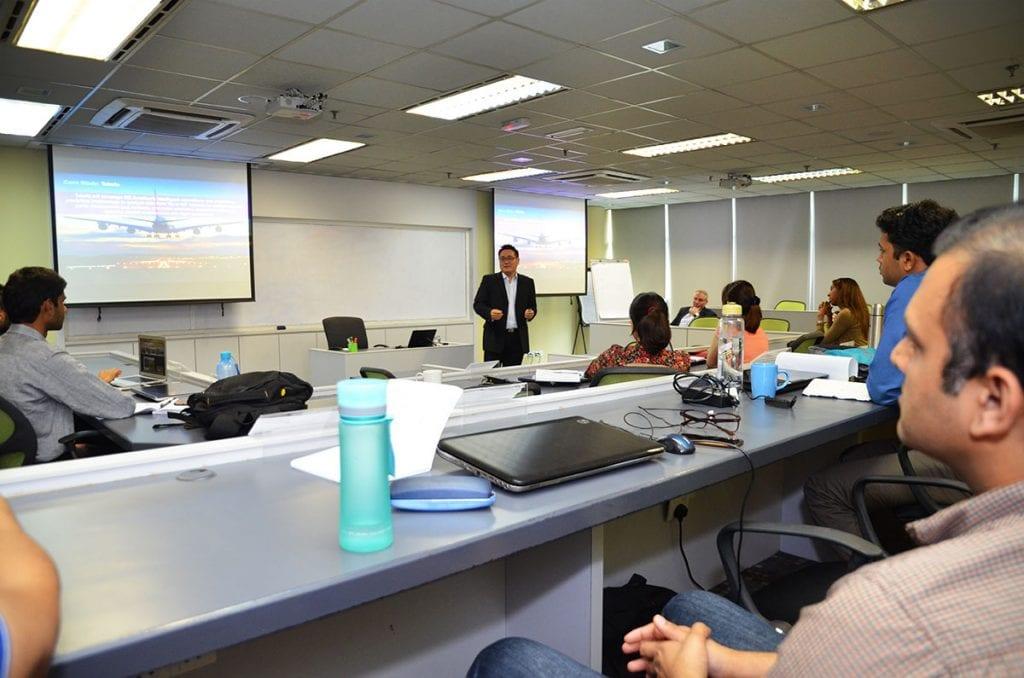 Accenture Visits MISI