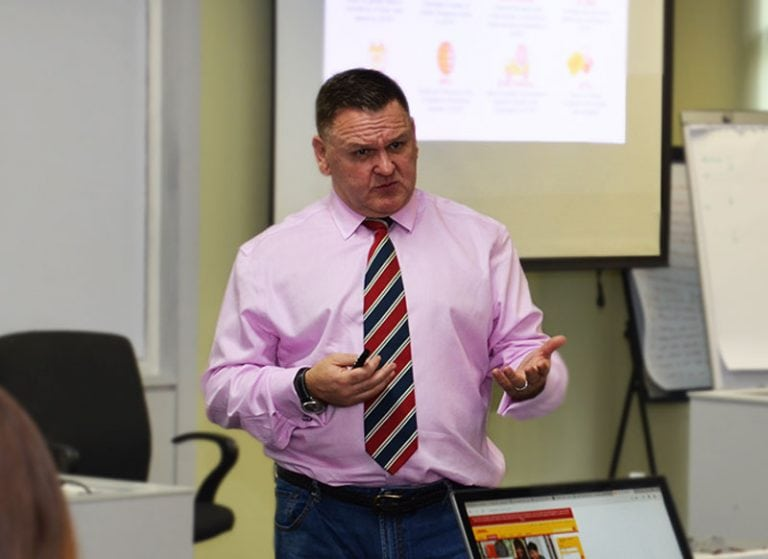 Charles Brewer of DHL eCommerce Visits MISI