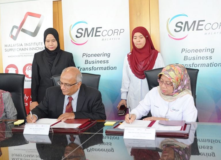 Collaboration between SME Corporation and Malaysia Institute for Supply Chain Innovation