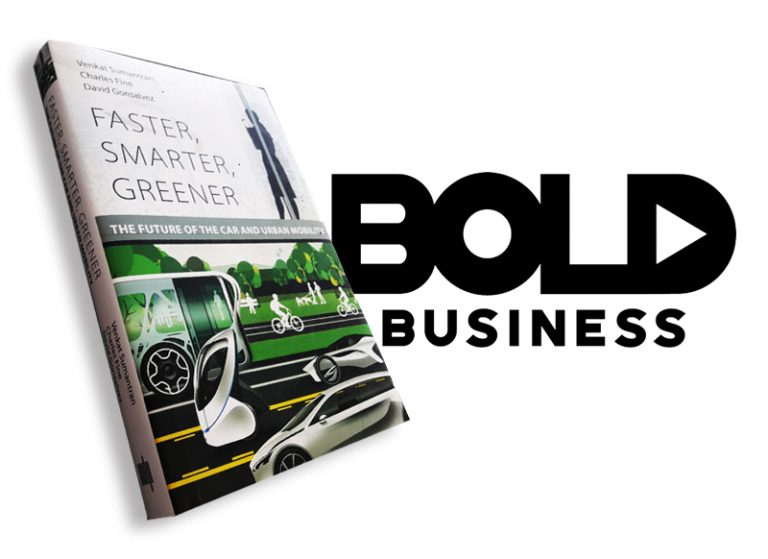 Faster, Smarter, Greener: The Future of the Car and Urban Mobility Reviewed in Bold Business