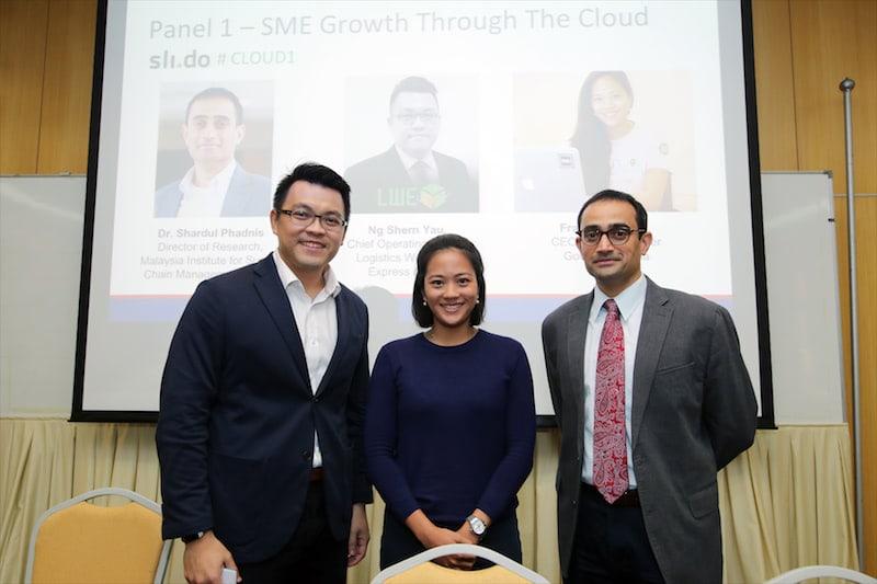 Business Growth through Cloud