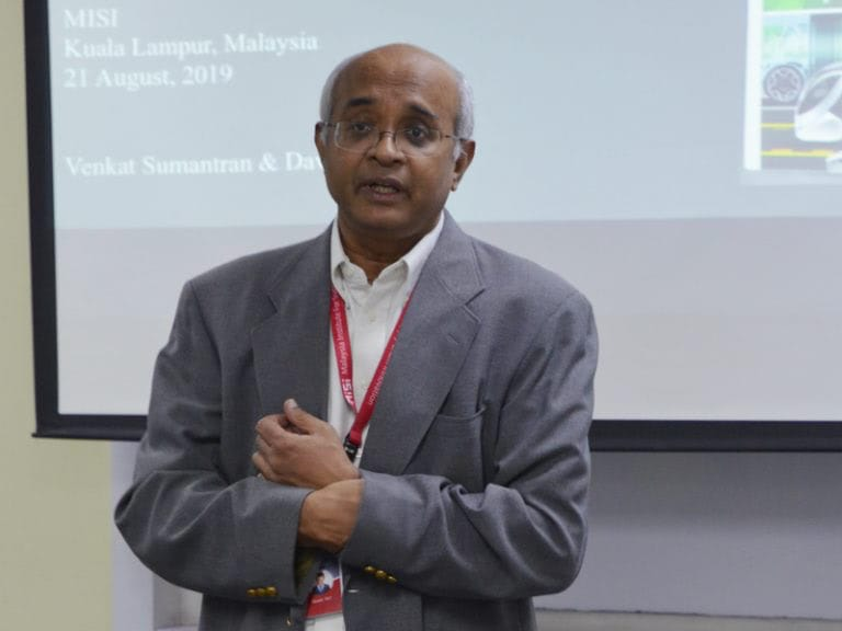 Lecture by Dr. V. Sumantran, Chairman from Celeris Technologies 1