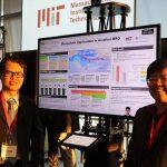 Here's Chang Kock Shong and Shaun KC Wong showcase their research poster